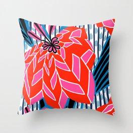 BAYAMO: OLENCIA BRIGHTS, Deco Tropical Throw Pillow