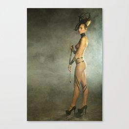 Woman Model Canvas Print