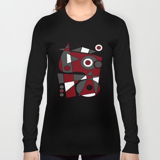 Abstract #185.2 Long Sleeve T-shirt