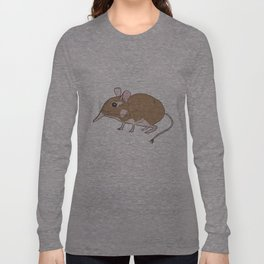 Elephant Shrew Long Sleeve T-shirt