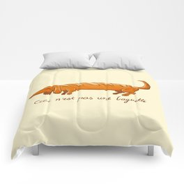This is not a baguette Comforters