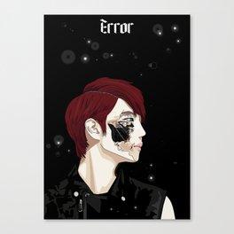 ERROR Canvas Print