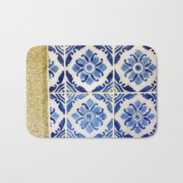 Portuguese tile 3 Bath Mat
