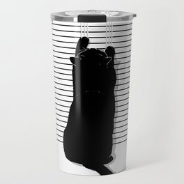 Cat Scratch Travel Mug