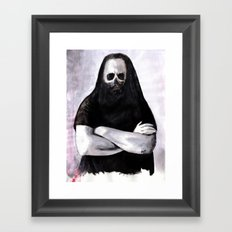 As If That Blind Rage Had Washed Me Clean Framed Art Print