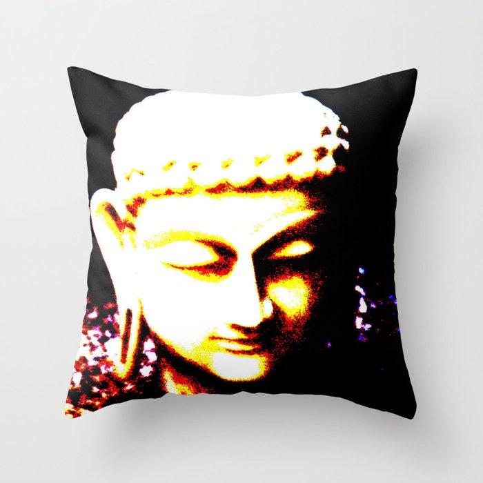Buda Love Throw Pillow