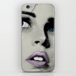Pop Glance iPhone Skin