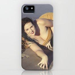 Mermaid Came Ashore iPhone Case