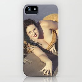 Mermaid Came Ashore iPhone Case
