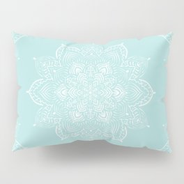 Winter Spirit Mint Pillow Sham