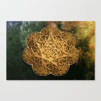 celtic Canvas Prints featuring Celtic Gold by Lynn Bolt