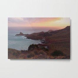 Coast of Almería Metal Print