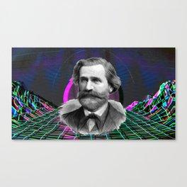 Vaporverdi Canvas Print