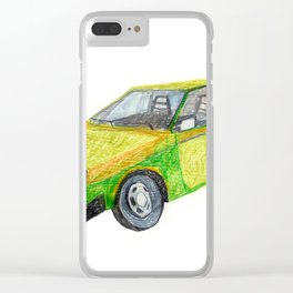 Volvo240 Clear iPhone Case