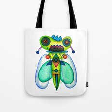Dragonfly Moth Tote Bag