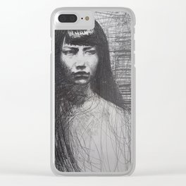 Anna May Wong Clear iPhone Case
