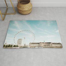London Eye Travel Photography Rug