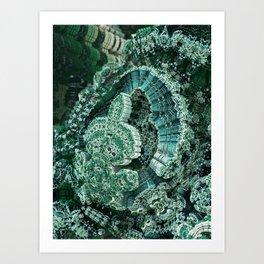 Dioptase Art Print