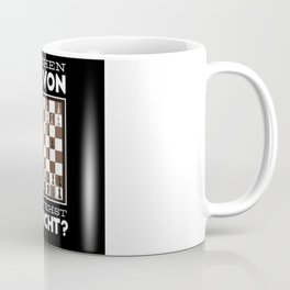 Chess Player Quote Chess Board Coffee Mug