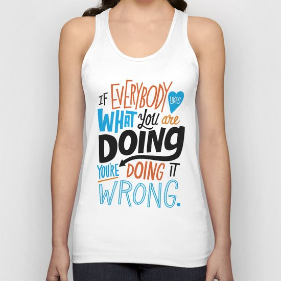 Doing it Wrong Unisex Tank Top