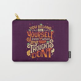 Thoughts are only thoughts Carry-All Pouch