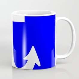 Anchor (White & Blue) Coffee Mug
