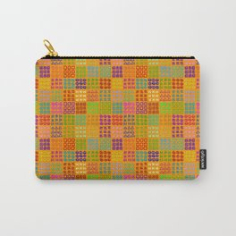 Aztec Wannabe (Orange) Carry-All Pouch