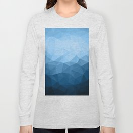 Geometric Polygonal Pattern 03 Long Sleeve T-shirt