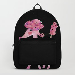 Poodle, watermelon fairy floss with green baubles Backpack