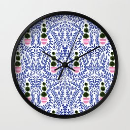 Southern Living - Chinoiserie Pattern Wall Clock
