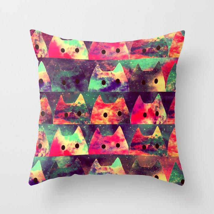 cats-131 Throw Pillow