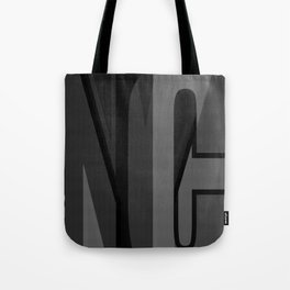 nyc typographic Tote Bag