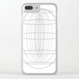 Geo001 Clear iPhone Case