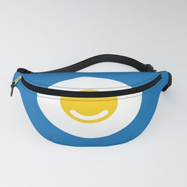 Minimalist Smiley Happy Fried Egg Fanny Pack