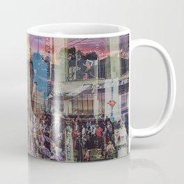 San Francisco city illusion Coffee Mug