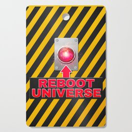 Reboot Universe Button Cutting Board