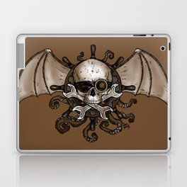 Airships and Tentacles SkullWheel Glyph Laptop & iPad Skin
