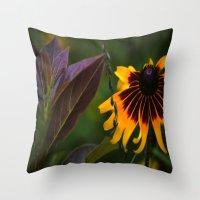 burgundy Throw Pillows featuring Burgundy BFFS! by gymmybob