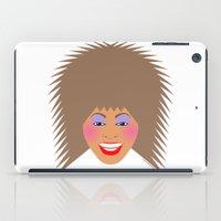 tina iPad Cases featuring Greatest Tina by tuditees