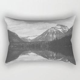 Peace At Lake McDonald  Rectangular Pillow