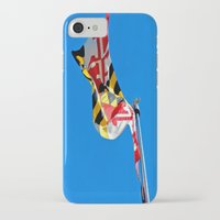 maryland iPhone & iPod Cases featuring Maryland Pride by Kelsey Hunt