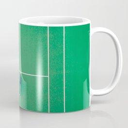 Tennis court green Coffee Mug