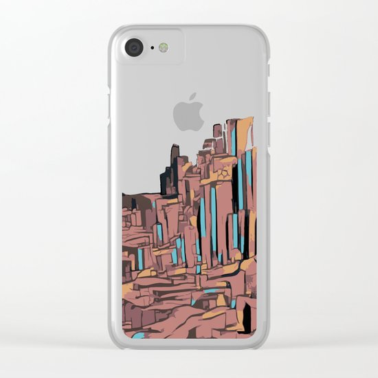 The Rock Clear iPhone Case