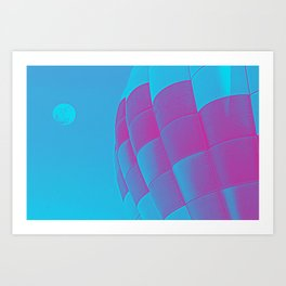 Up Up and away 2 Art Print