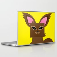 furry Laptop & iPad Skins featuring Furry Kitty by Yay Paul
