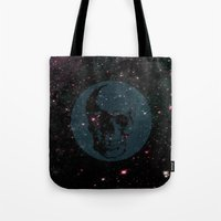 dead space Tote Bags featuring Dead Space by Fimbis