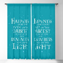 Happiness can be found... Blackout Curtain