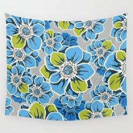 Mandala Flowers 6 Wall Tapestry