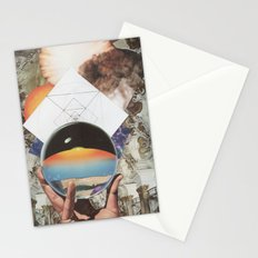 Hand of Symmetry Stationery Cards