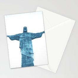 Christ Redeemer Rio de Janeiro - Art Stationery Cards